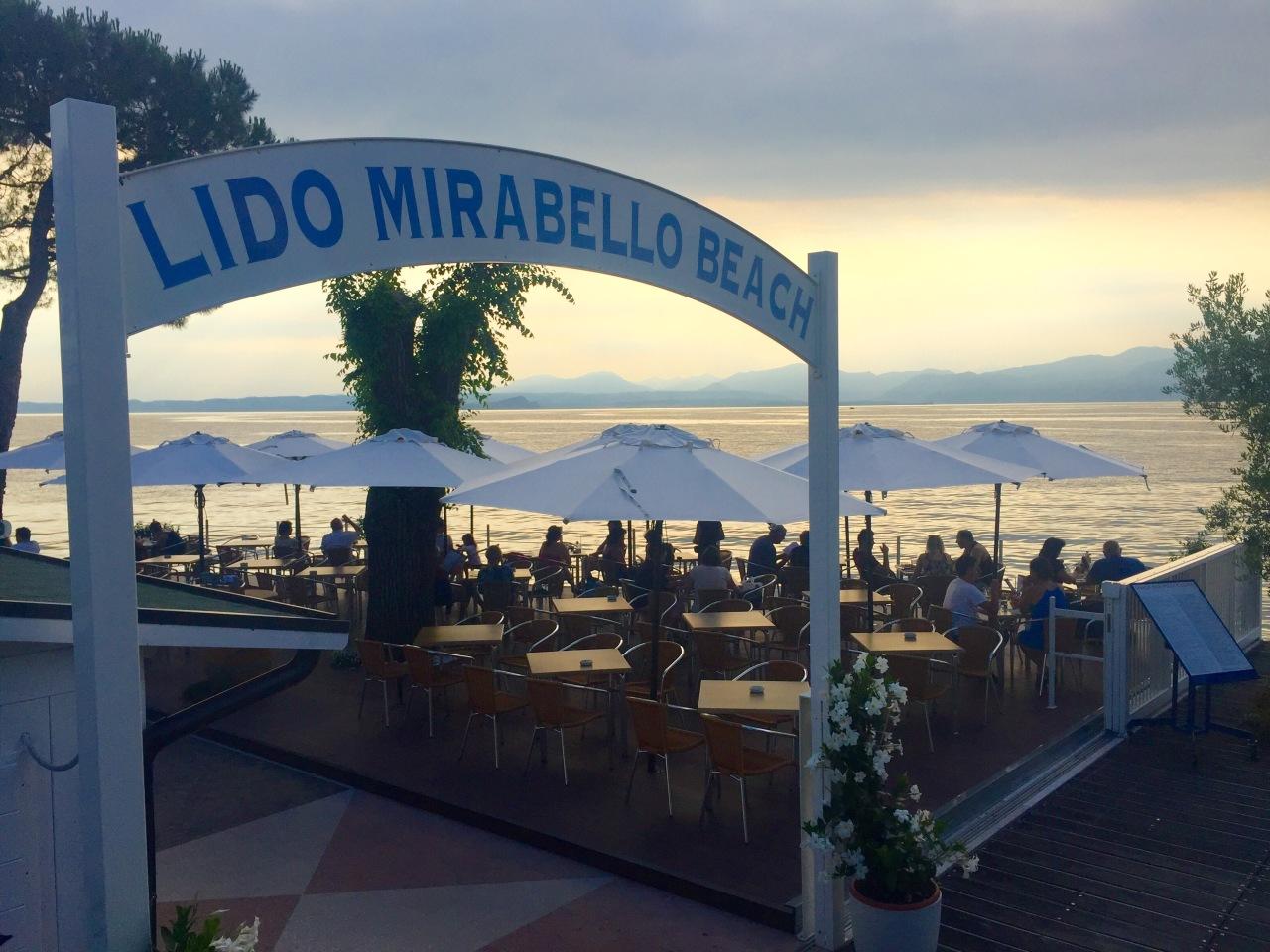 Drink. Bardolino (Lake Garda).Italy.